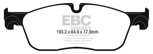 EBC YellowStuff Front Brake Pads for Jaguar F-Pace 3.0 SC 340 15 DP42251R