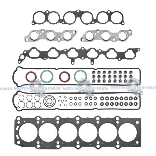 93-97 Toyota Supra Lexus GS300 SC300 3.0L L6 2JZGE MLS METAL Head Gasket Set