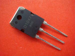 2Pcs PNP Transistor TO-3P KP 2SD1047 D1047
