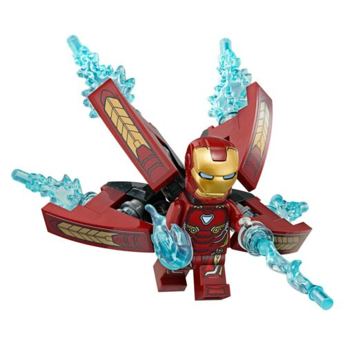 LEGO Marvel Super Heroes Iron Man Prime MINIFIG from Lego set #76107 Brand New