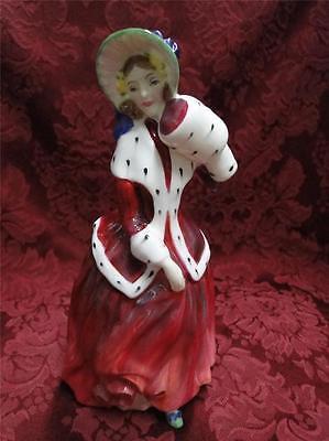 """Royal Doulton Figurine, Christmas Gift, """"Christmas Morn"""", HN1992, 7.25"""" tall"""