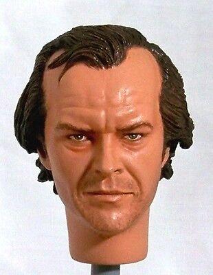 1:6 Custom Head of Jack Nicholson as Jack Torrance from the film The Shining