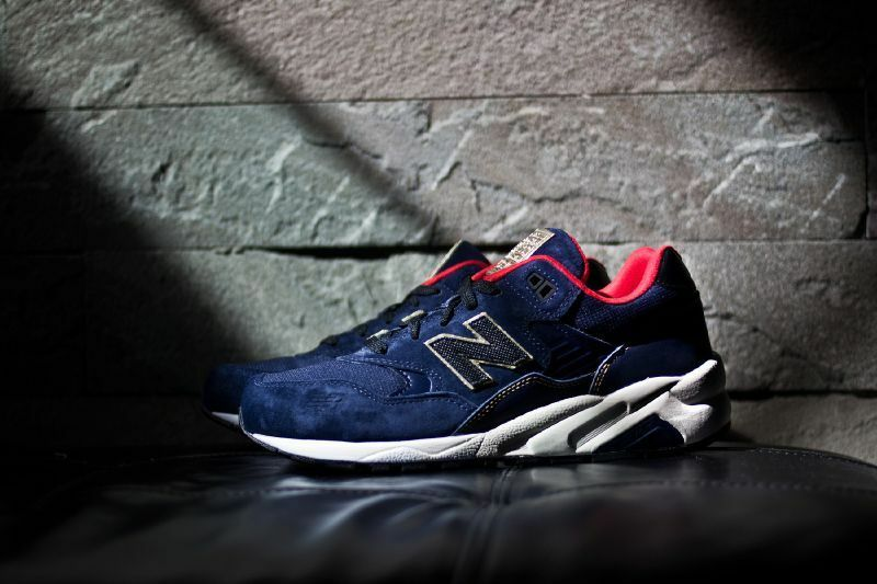 NEW BALANCE 580 ELITE OLYMPIC USA NAVY GOLD MRT580AA CASUAL RUNNING SHOES 7-13
