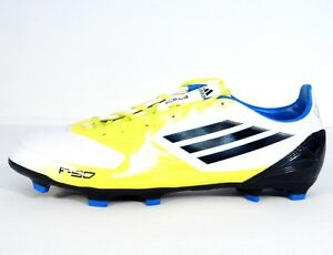 sale retailer 0700f 41d4a Image is loading Adidas-F10-TRX-FG-Yellow-White-amp-Black-