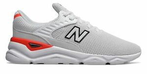 New-Balance-Men-039-s-X-90-Shoes-White-With-Red