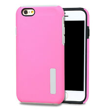 Hybrid Rubber Shockproof Hard Back Case Cover For Apple iPhone 4S 5S 6 6S Plus