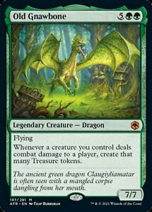 Old Gnawbone x1 Magic the Gathering 1x Adventures in the Forgotten Realms mtg ca