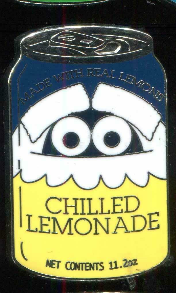 Delicious Drinks Soda Cans Mystery Chilled Lemonade Disney Pin