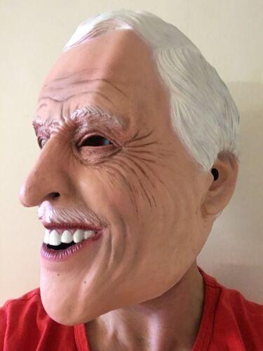 Bruce Forsyth Masque Tête Complète Latex jouer vos cartes strictement venir Masques