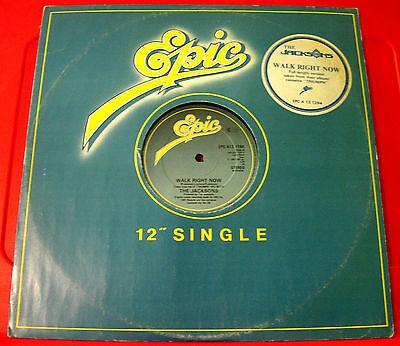 "The Jacksons Walk Right Now 12"" UK ORIG 1981 Epic (Michael/Jackson 5) VINYL"