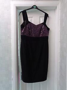 SAVOIR-EVENING-DRESS-IDEAL-CHRISTMAS-SIZE-16-BUT-SMALL-GO-BY-GIVEN-MEASUREMENTS