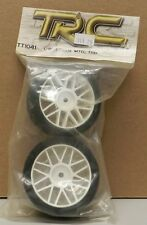 TT1041 GREEN MTD TRD TRC WHEEL 1/10 SCALE RACE CAR TIRES RC RACING