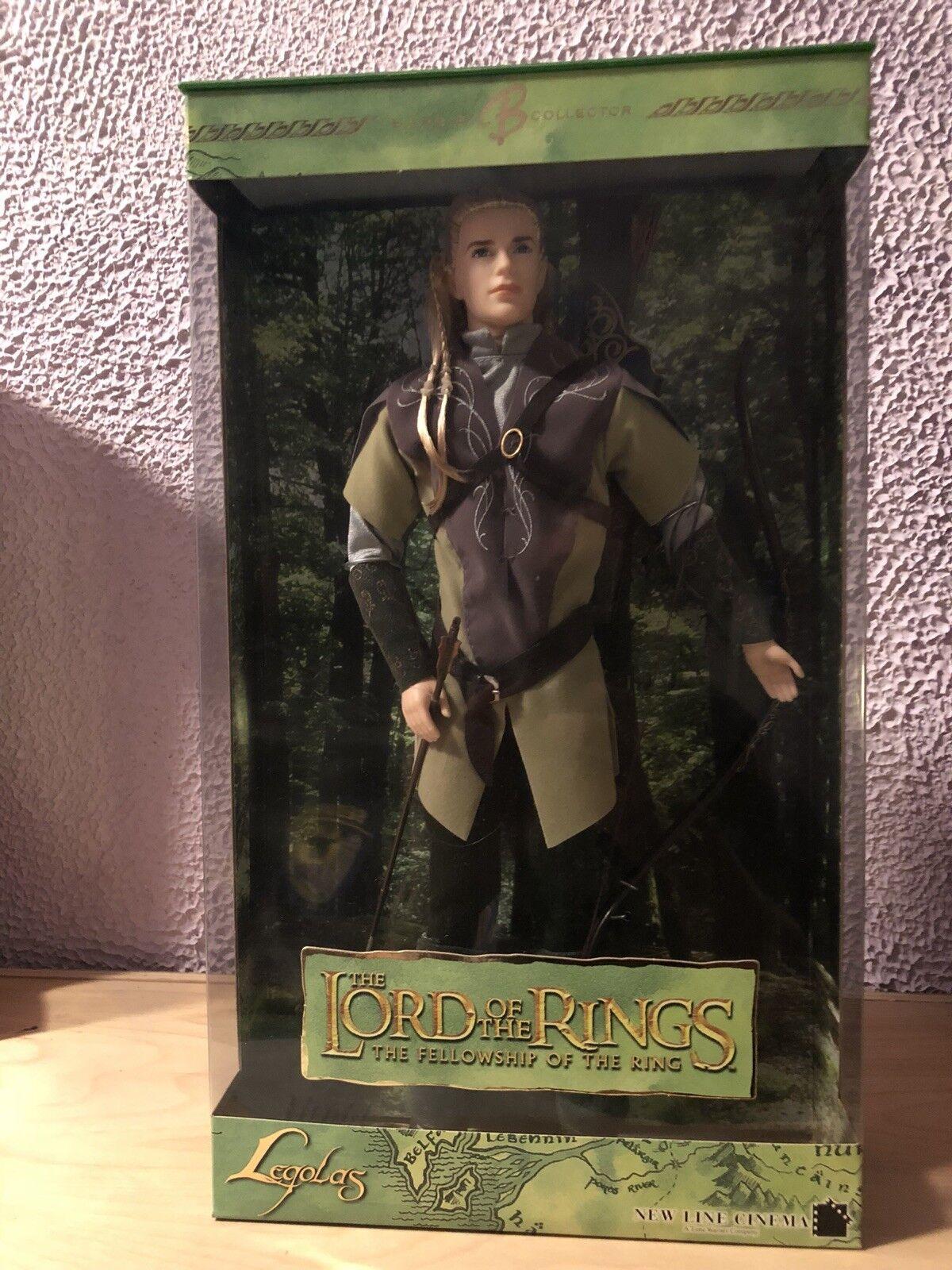 El Señor De Los Anillos Ken y Barbie la comunidad del anillos-en caja original