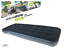 Yellowstone Deluxe Single Flock Airbed with Internal Built in Foot Pump Black