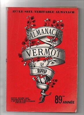 ALMANACH VERMOT 1968 Bel état complet 360 pages Humour