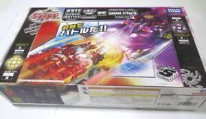 TAKARA TOMY BATTLE BLADE KB-37 POWER UP BATTLE SET FIRE DRAGON VS SAVAGE FIGHTER