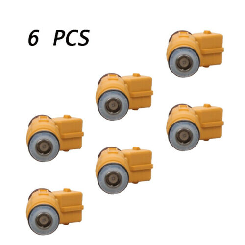6pcs//set Fuel Injectors Fits For 87-98 JEEP 4.0L REPLACE 0280155710 Awesome