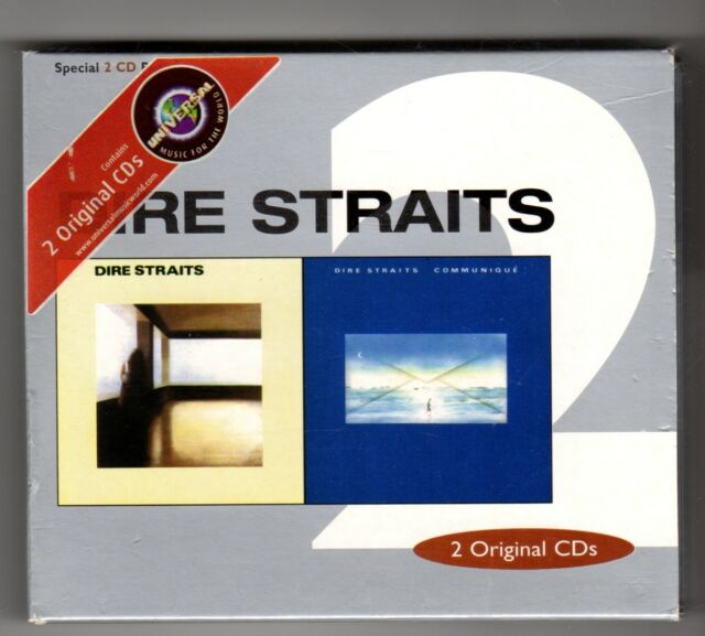 (IM705) Dire Straits, Dire Straits / Communique Remastered - 1999 Boxset CD