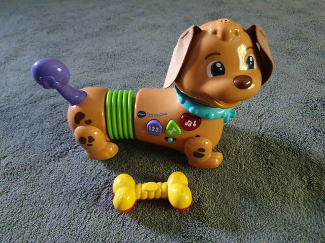 VTech Walk & Wiggle Learning Pup Baby Musical Toy, Interactive Baby Toy