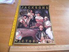 Michael Jackson The Jacksons Victory Tour program oversized