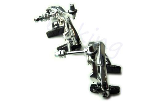 TEKTRO R559 ROAD Bike Brake Calipers Long Arms 53-73 mm NUTTED Black Silver