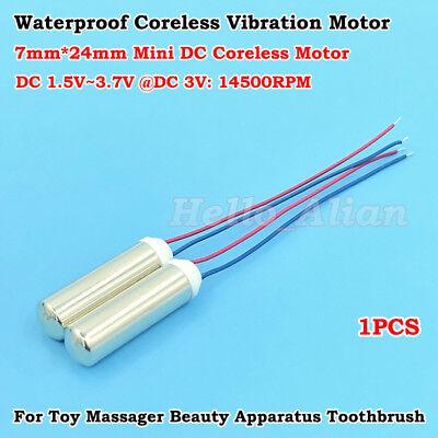 DC 1.5V-3V 7mm*16mm Micro Coreless Vibration Motor Mini Vibrating Vibrator Motor