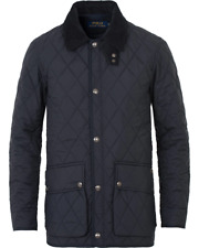 Car Navy Kempton Size Polo Blue For Lauren Coat Medium Ralph Quilted lJT3FK1c