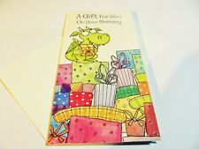 Stylish Classy Girl Boy A Gift For You on Your Christening Day MONEY WALLET