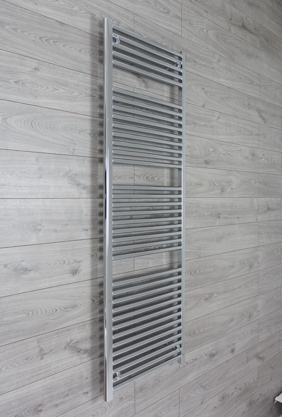 Cromo Toallero Rad Radiador de calefacción central de baño 500mm (W) x 1744mm (H)