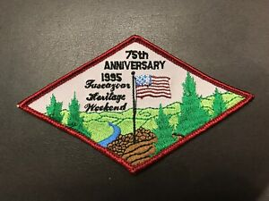 Heritage-Weekend-1995-75th-Anniversary-Patch