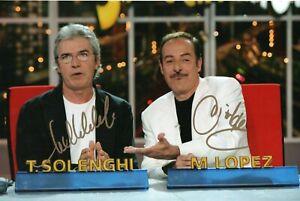 Foto-autografata-Tullio-Solenghi-Massimo-Lopez-Signed-Autografo-ITP-Trio-Cinema