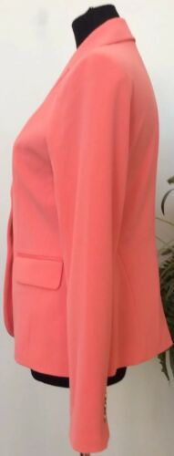 Jacket York Euc Blazer Company New Blend Polyester 6 Pink 7th Avenue amp; Sz Women qwva5E5Oz