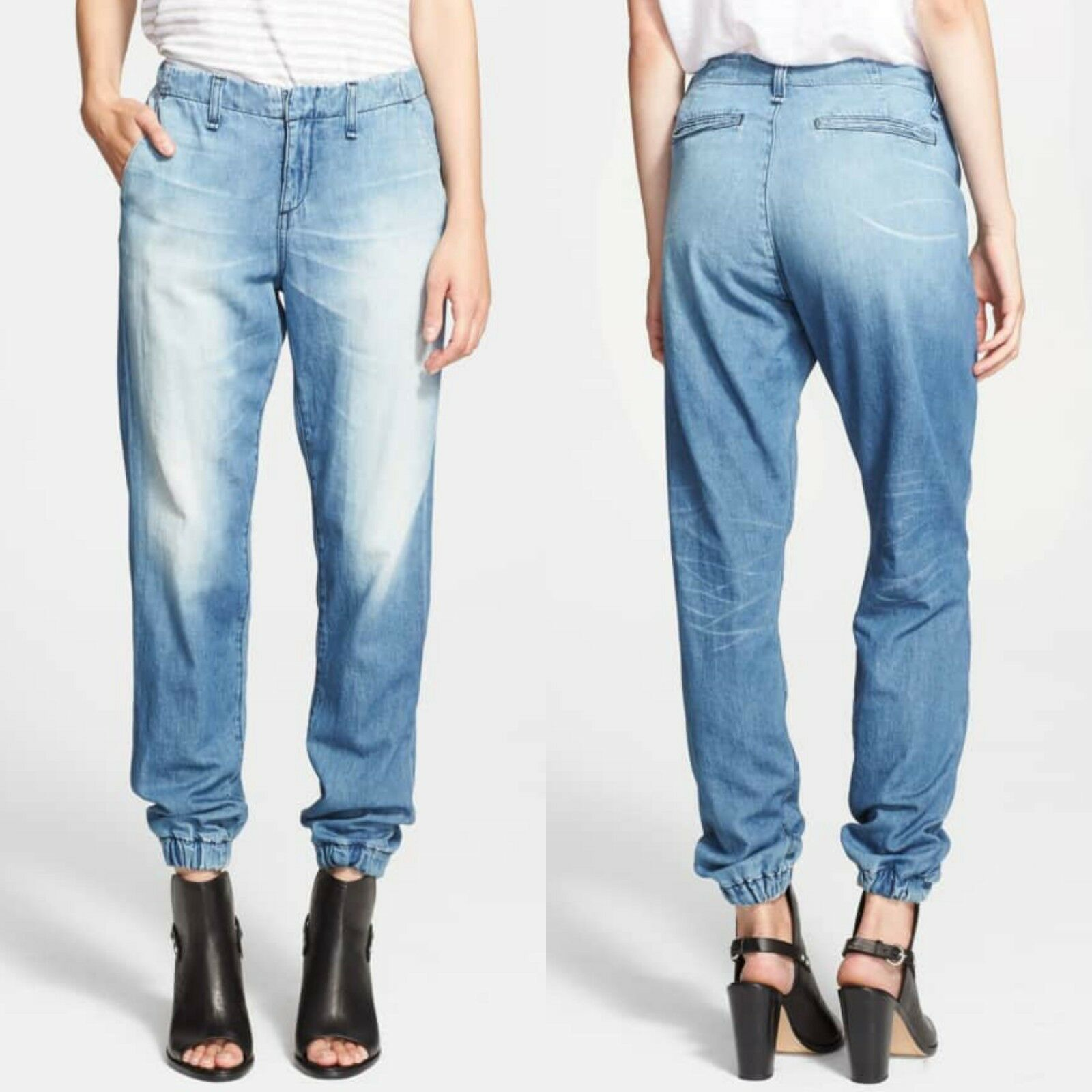 Rag & Bone Pajama Tapered Jean Size 25 New With Tags