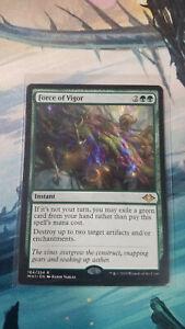 Modern Horizons MTG NM Magic the Gathering: Force of Vigor  x1