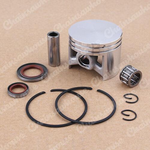 50MM Piston Kt Fit Stihl 044 MS440 W//Rings 12MM Wrist Pin Chainsaw 1128 030 2015