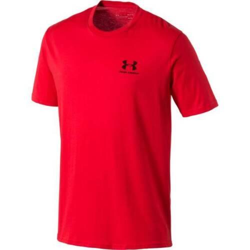 orange taille m-2xl Under Armour Hommes Shirt sport style left Chest 1326799-646