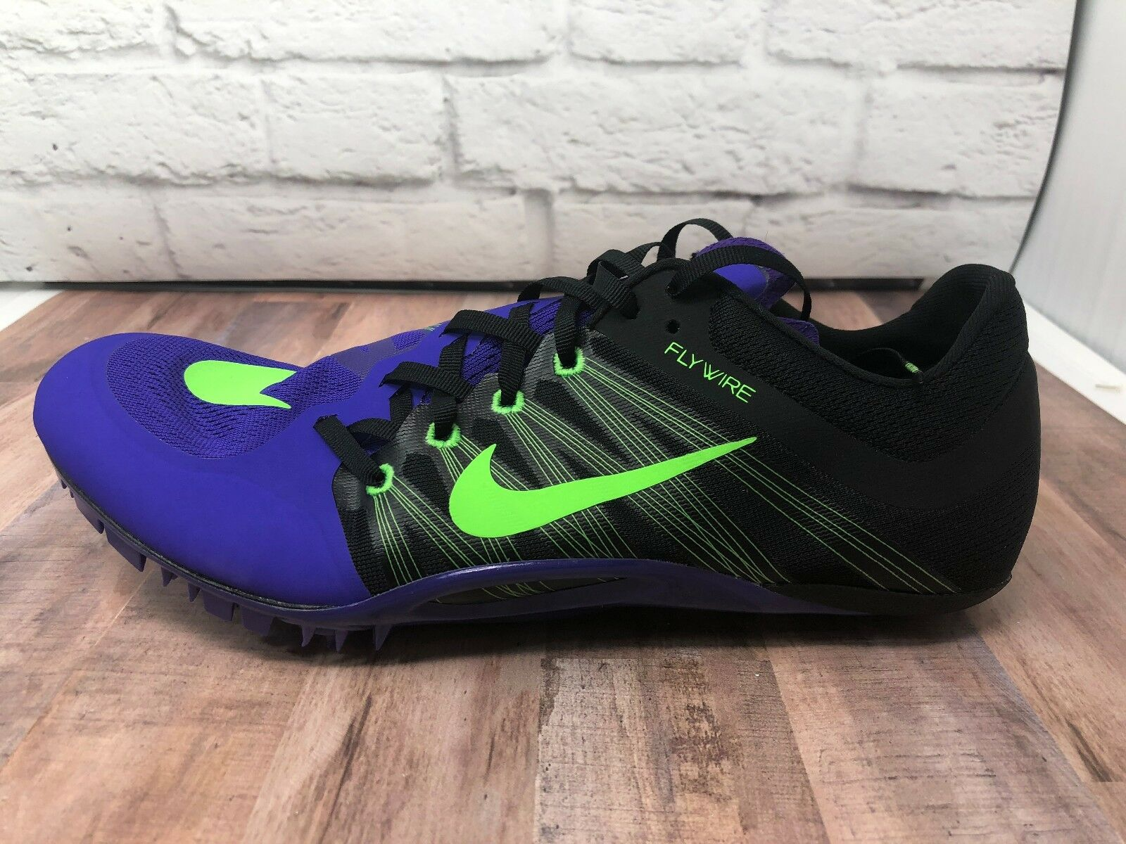 Nike Zoom JA Fly 2 Track Sprint Shoes 705373-035 w/ Spikes Mens Comfortable Cheap and beautiful fashion