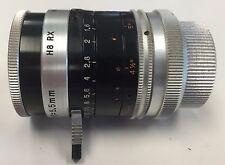 Kern Switar 5.5mm 1.6 Movie Camera Lens 25mm Screw Mount (H8RX mount)