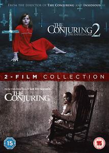 The Conjuring 1 & 2 (DVD) Patrick Wilson, Vera Farmiga, Joey King