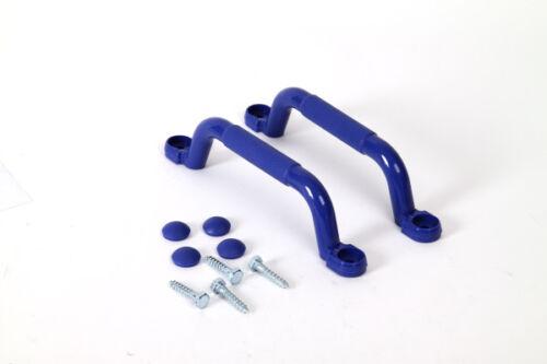Handgriff Set blau Handgriffe Abenteuerbett Griff Spielturm Kletterturm handle