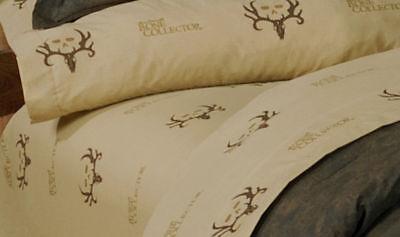 Möbel & Wohnen Bone Collector Laken Set Geweih Logo Bettwäsche Sparen Sie 50-70% Bettwäsche