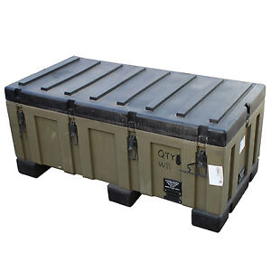 Image is loading EX-AUST-ARMY-TRIMCAST-PELICAN-HARD-SHELL-CASE-  sc 1 st  eBay & EX-AUST ARMY TRIMCAST PELICAN HARD SHELL CASE PELICAN TRUNK PELICAN ...