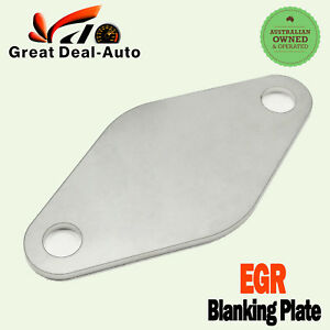 Nissan patrol egr blanking plate