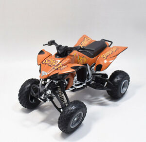 New Ray 1 12 Yamaha Yfz 450 Monster Jam Scooby Doo Atv Motorcycle Model Ebay