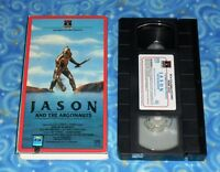 Jason and the Argonauts VHS Video Tape with Cover Excellent Tested Condition