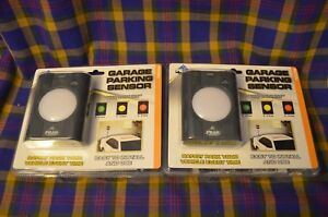 Pair Of Garage Parking Sensors Easy To Install Amp Use Led