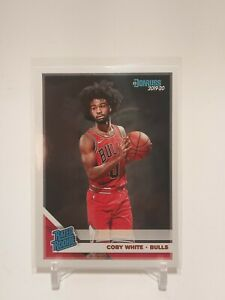 2019-20 Panini Donruss Rated Rookie Coby White Base #206 RC Chicago Bulls