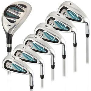 Ram-Golf-EZ3-Ladies-Petite-Right-Hand-Iron-Set-5-6-7-8-9-PW-HYBRID-INCLUDED