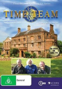 Time-Team-Hooke-Court-And-Other-Digs-DVD-2015-4-Disc-Set-NEW-amp-SEALED