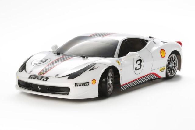 Tamiya 93042 Ferrari 458 Challenge Tt02d Drift Rc Kit Car Without